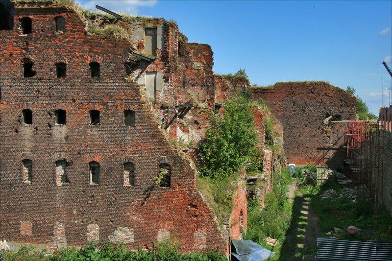 Крепость Орешек, Руины IV тюремного корпуса