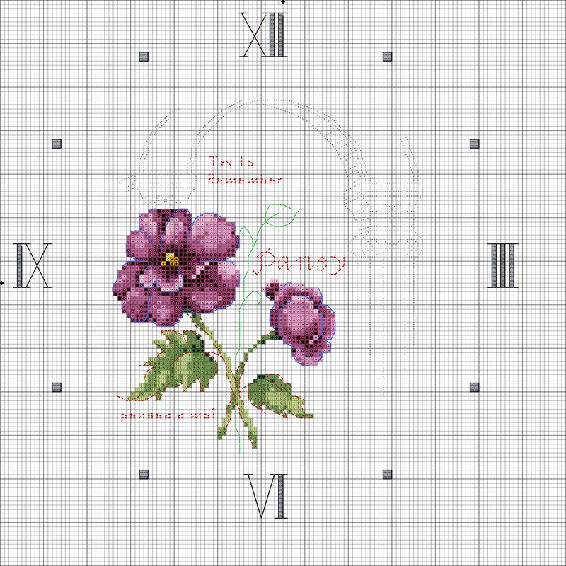 Очень красивые схемы вышивки часов для украшения дома или дачи.  Вот такие украшалки дом и дачи 1. 2. 3.