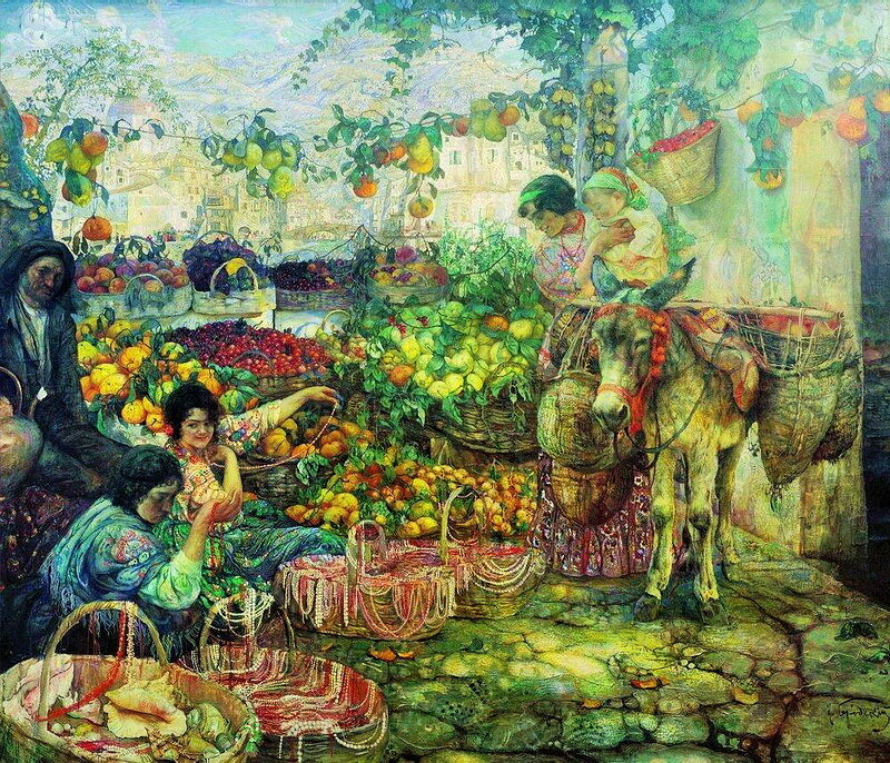 Бродский Исаак Израилевич. Золотая осень, 1913г.
