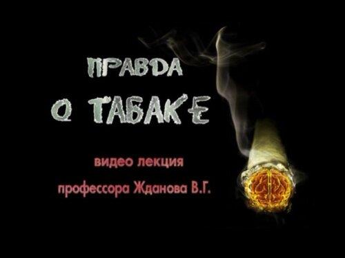 Жданов В. Г. Правда о табаке
