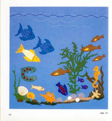 Панно подводный мир своими руками