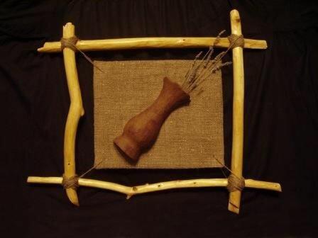 20 сентября 2011.  Чтобы сделать оригинальную рамку, потребуется всего лишь несколько сухих веток и веревка.