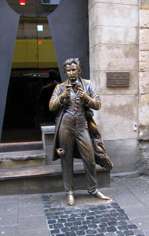 Львов - памятник Леопольду фон Захер-Мазоху