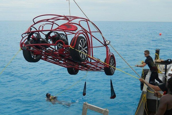Подводный автомобиль от Volkswagen