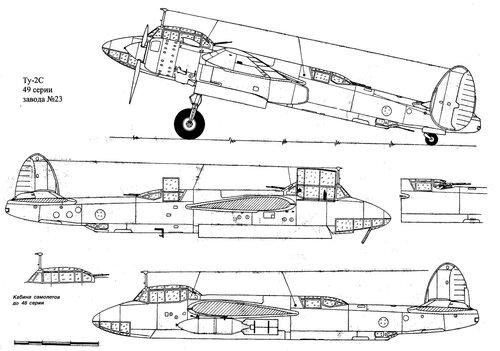 Ту-2 2.5 м.