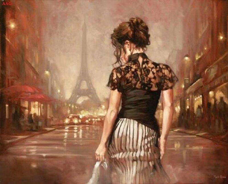 Где ты бродишь мое одинокое счастье? Художник  Mark-Spain
