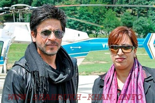 Shah Rukh Khan & Raja Nighat Aman - 31 august 2012