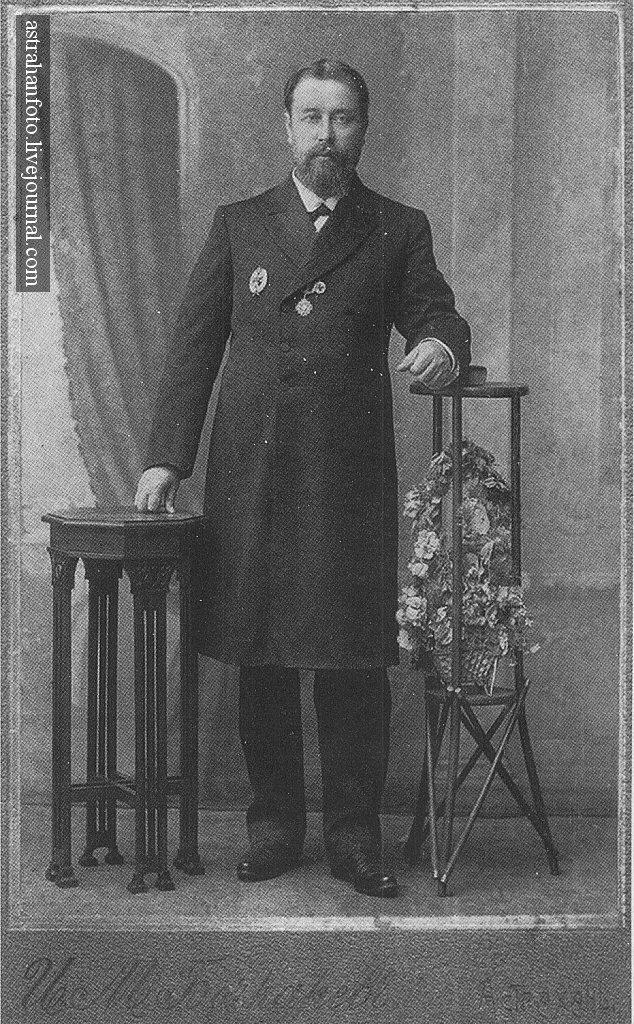 И.М. Бочкарев. Г.А. Ларина. 1910