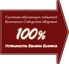 Обучающие события компании Сибирское здоровье