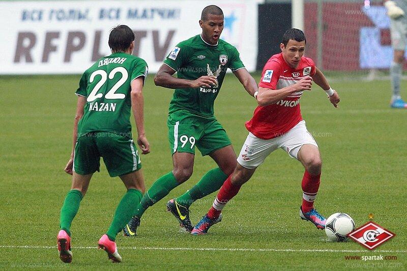 «Спартак» vs «Рубин» 2:1 Премьер-лига 2012-2013 (Фото)
