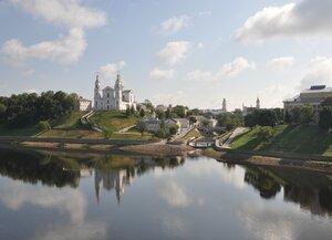 Витебск. Вид на Успенский собор