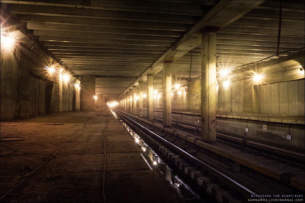 Киевское метро, подземка станция Теличка