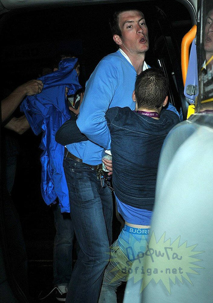Бельгийский олимпиец после ночного клуба