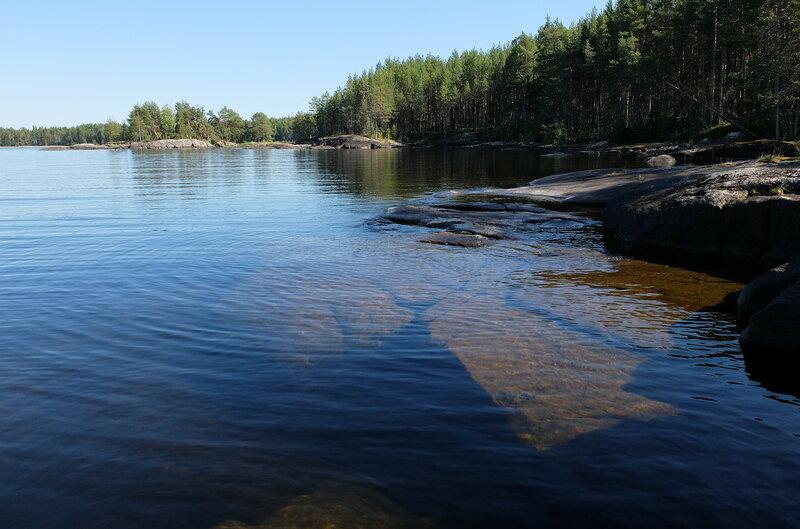 трех фотографии онежского озера пегрема всегда