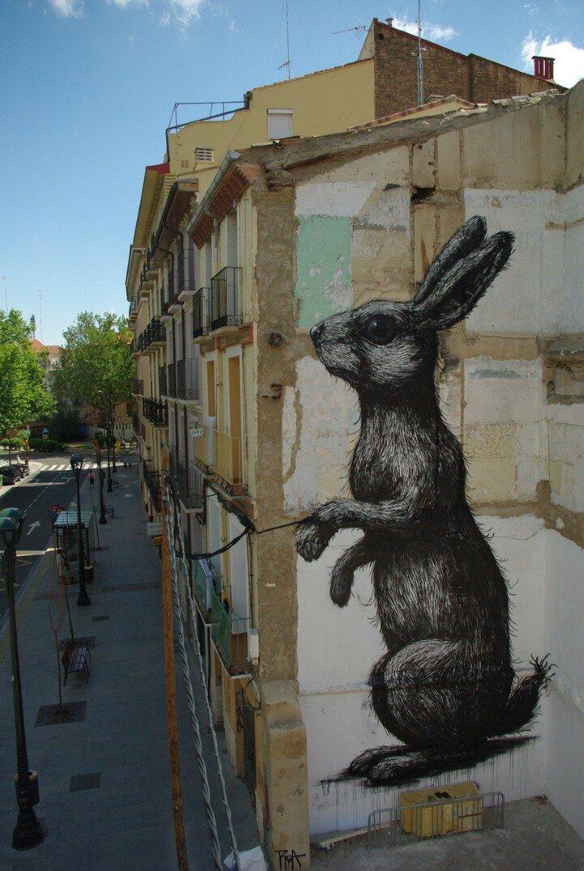 ROA. Уличный художник 20