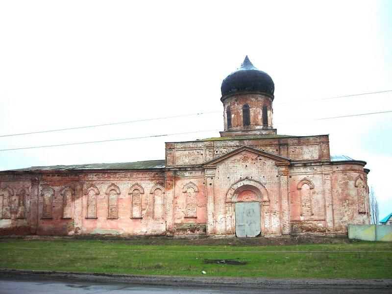 Такой храм мне достался в октябре 2007г.