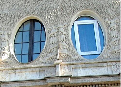 круглое окно, переплет