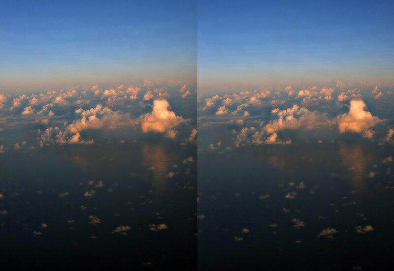 Индийский океан. Стереопара, перекрёстная стереопара, 3D, X3D, стерео фото, crossstereopairs, stereo photo, stereoview