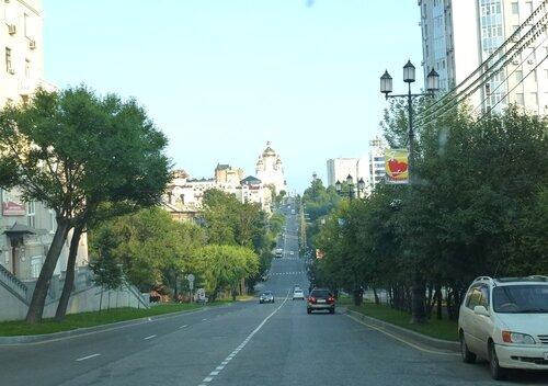 Хабаровск пересекают два оврага - бышие реки