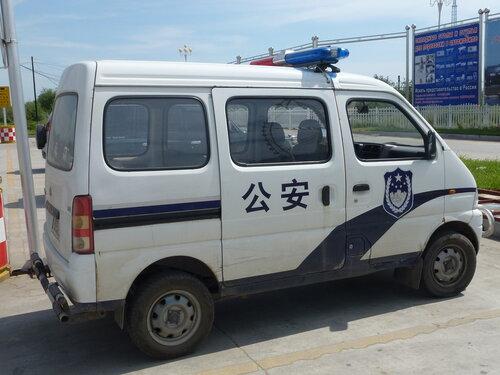 китайская полицейская машина