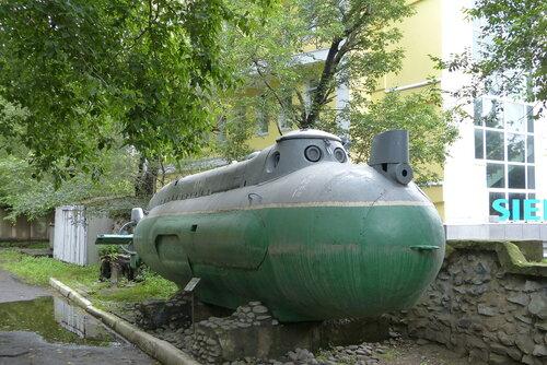 Экспериментальная малая подводная лодка для диверсионных операций