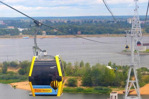 Вагоночики канатной дороги Нижний  Новгород