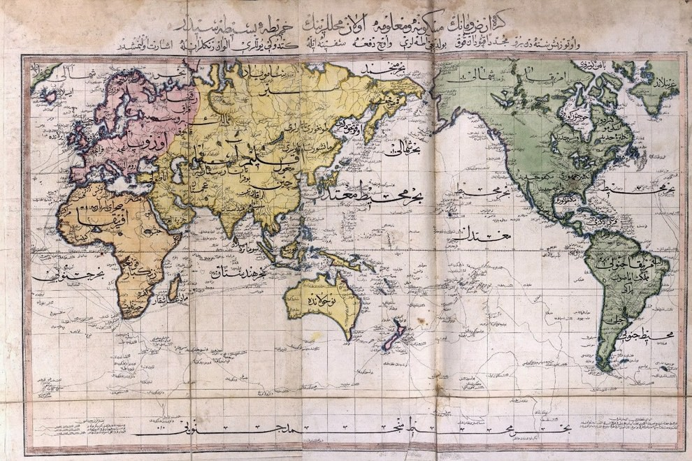 Карта мировых религий