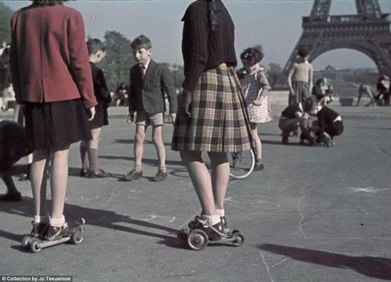 Парижские роллеры, 1942 год.