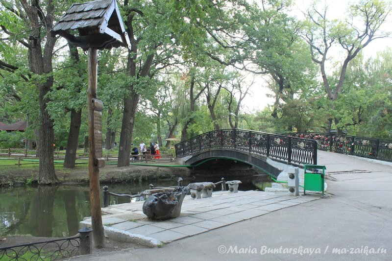Городской парк культуры и отдыха имени Горького, Саратов, 20 августа 2012 года