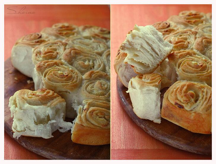 Мeсеница - болгарский пирог с брынзой
