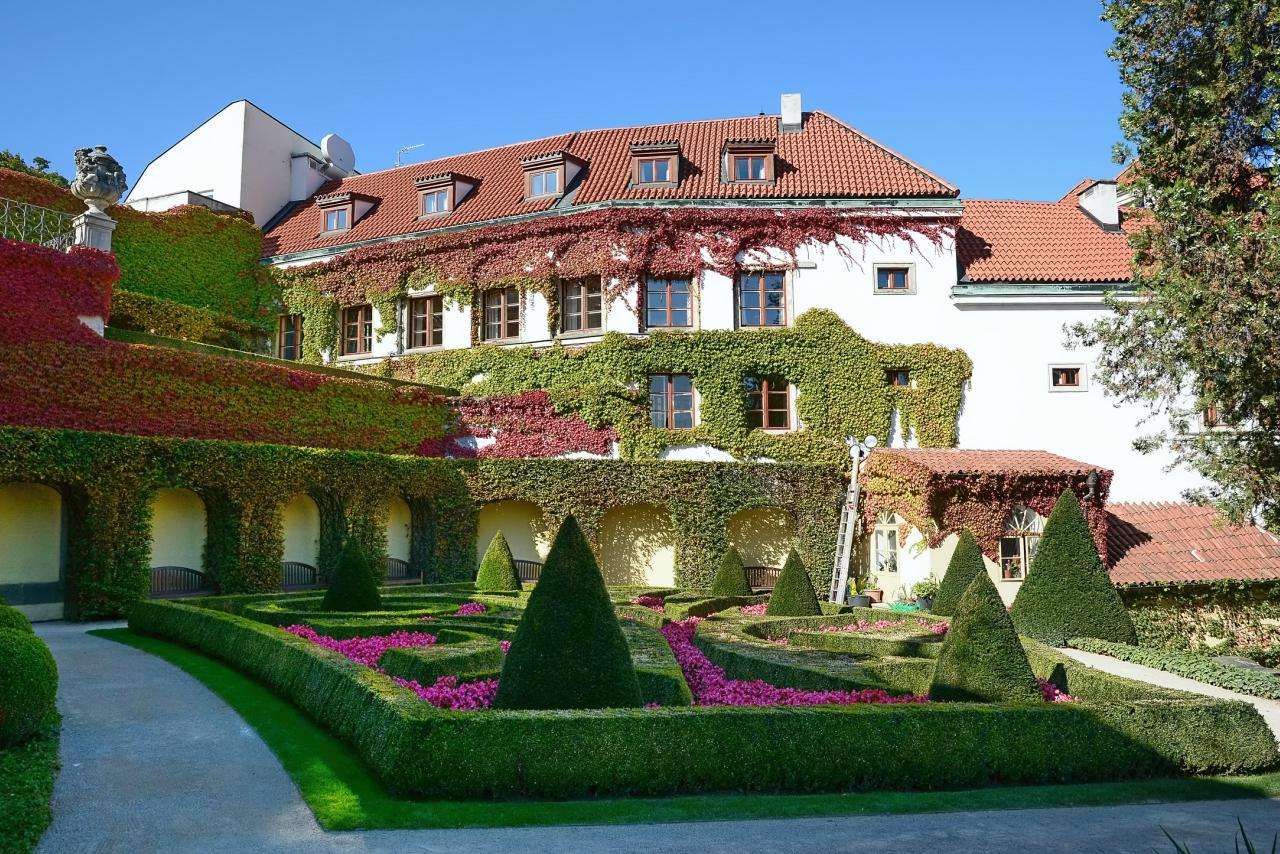 Вртбовский сад, Нижняя терраса