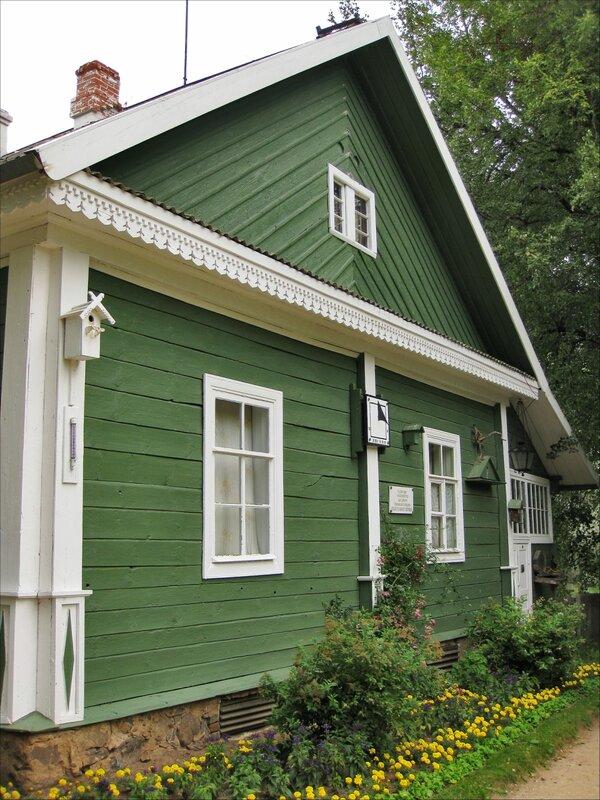 Пушкиногорье, Михайловское, Дом, где жил директор заповедника С.С.Гейченко