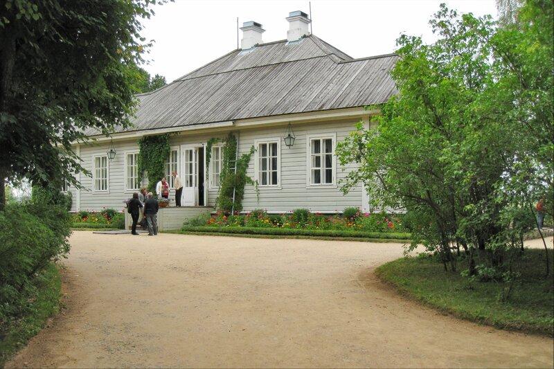 Пушкиногорье, Михайловское, Главный дом