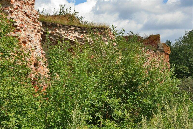 Крепость Орешек, Руины I Тюремного корпуса