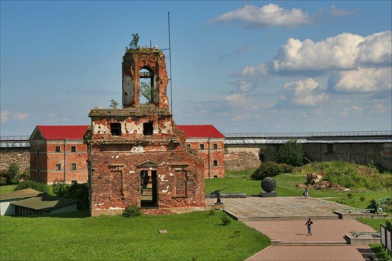 Панорама крепости Орешек