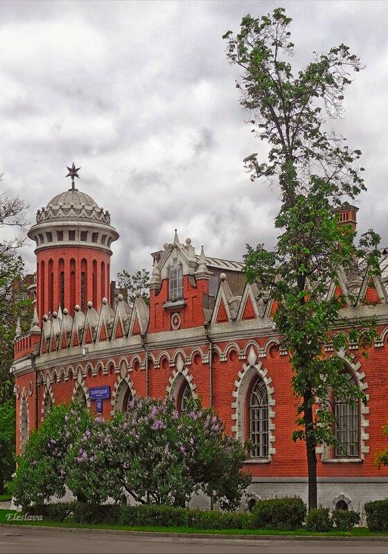 Фрагмент Петровского Путевого дворца