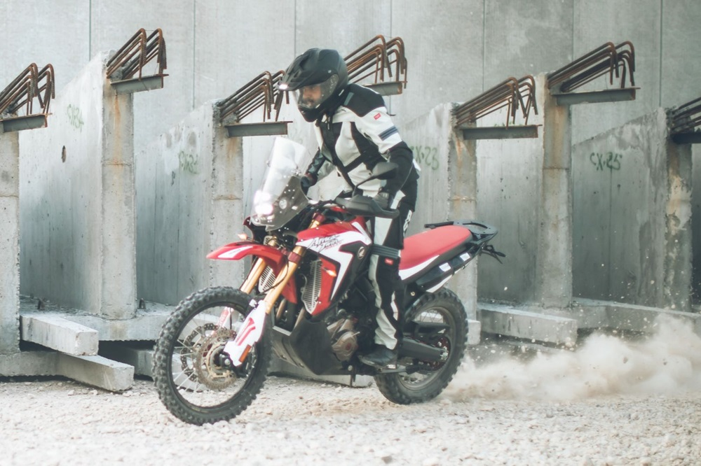 Компания Spidi провела испытания Honda Africa Twin Rally  (фото + видео)