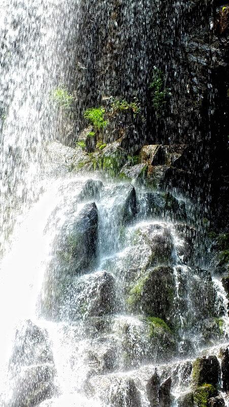 водопад беневский