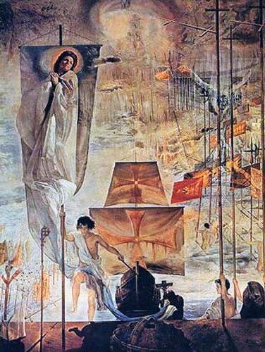 Сальвадор Дали. Открытие Америки , или Мечта Христофора Колумба. 1958 - 1959 годы..jpg