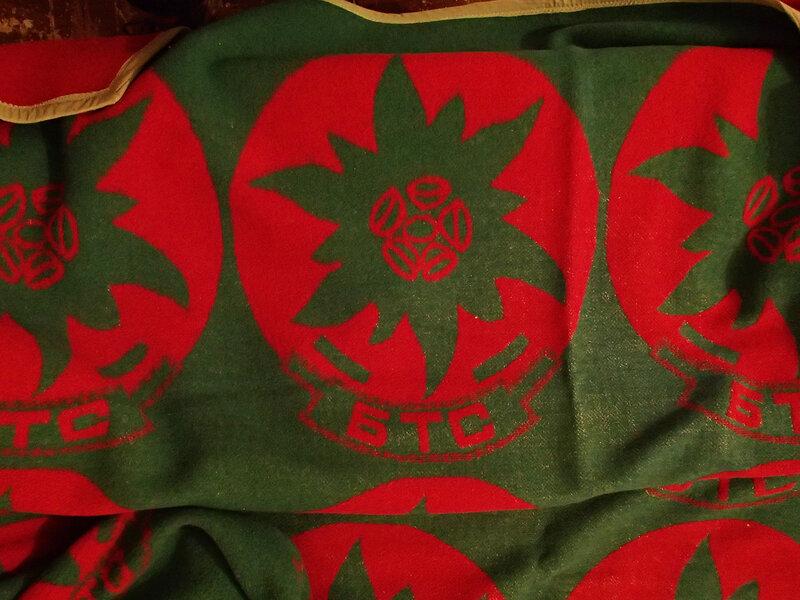 одеяла БТС - Болгарского Туристического Союза в хижине Чумерна