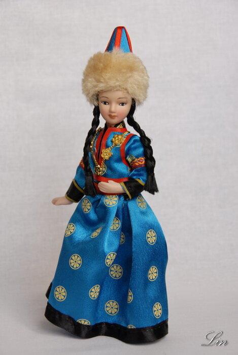 Кукла в бурятском костюме своими руками