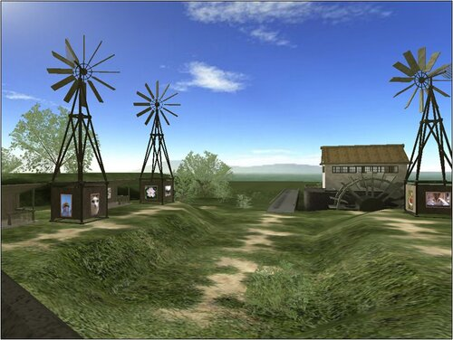 виртуальная 3D фото галерея