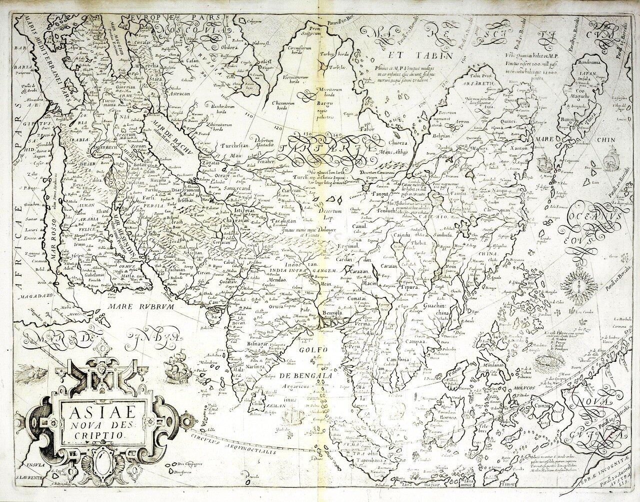 1750. Новое описание Азии