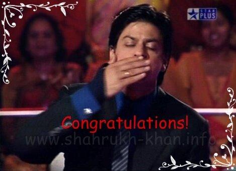 SRK's kiss
