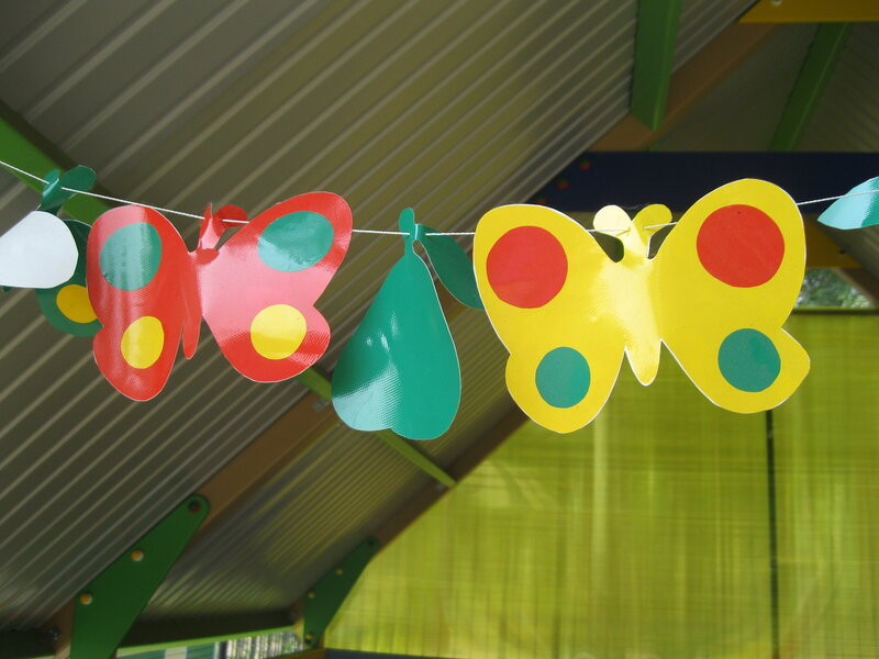 Украшения на веранду в детском саду своими руками
