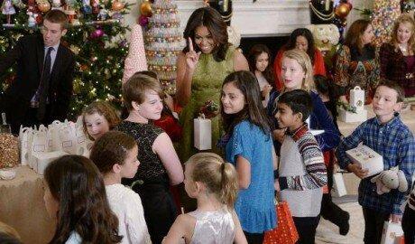 Первая леди США представила убранство Белого дома