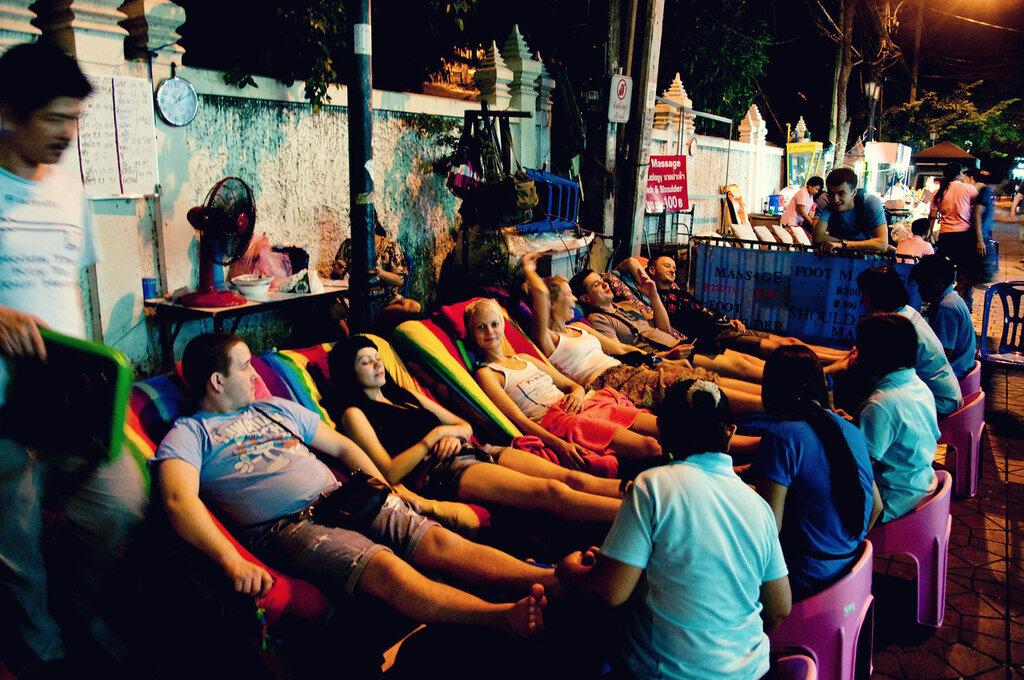 Массаж ног в Бангкоке