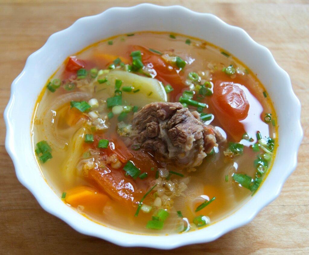 Суп из говяжьих рёбер. Малайзийская кухня