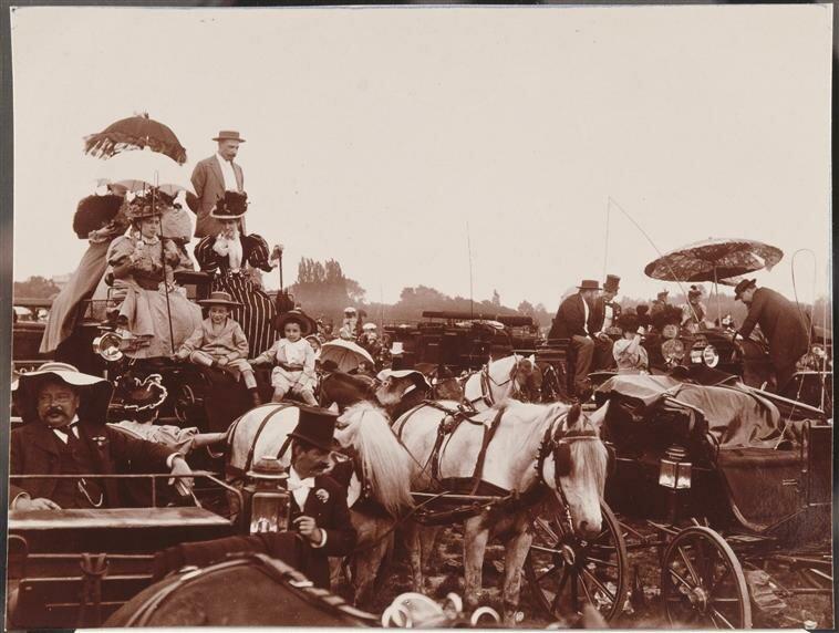 4. Анри Лемон. Ипподром. Экипажи и персонажи. 1894.jpg