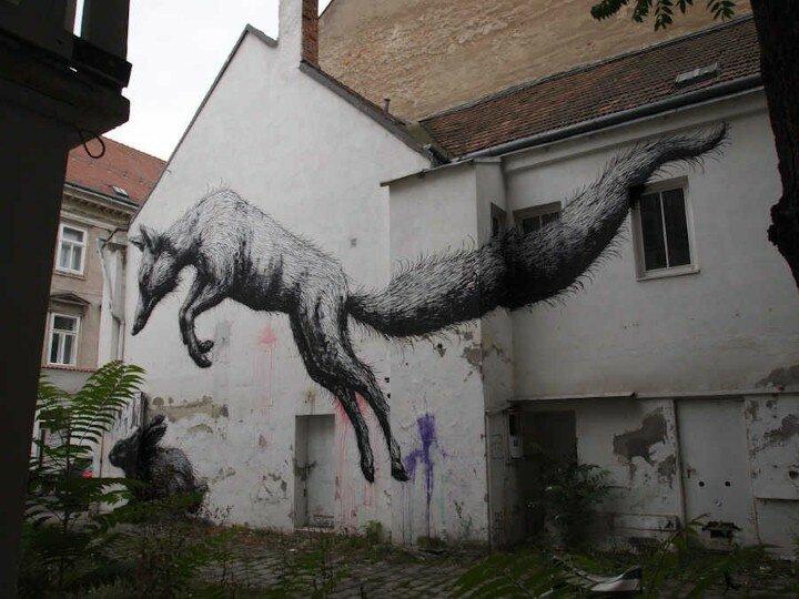 ROA. Уличный художник 14